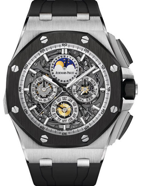 Audemars Piguet Royal Oak Offshore Grande Complication : l'œuvre d'un homme